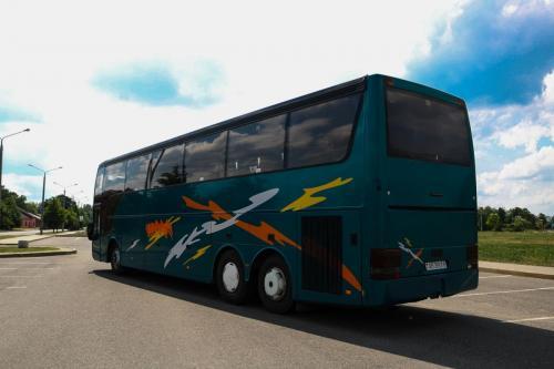 аренда автобуса Ванхул Vanhool T918 в минске, бобруйске, могилеве